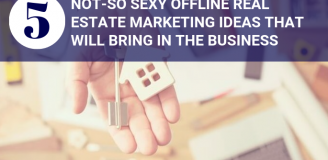 Offline Real Estate Marketing