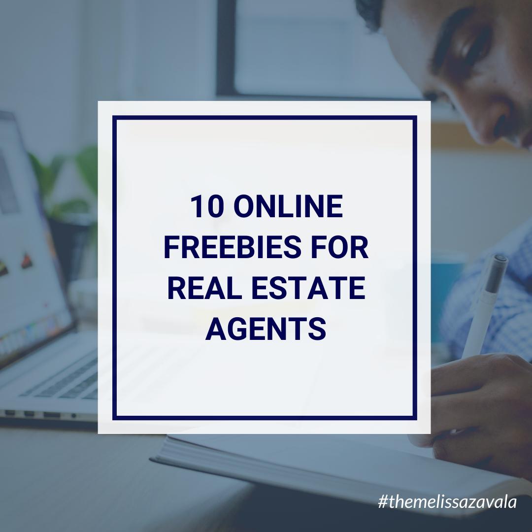 10 online real estate freebies